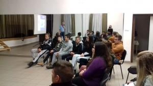 Drogprevenciós előadás és klubfoglalkozások - 2018.11.30. - Királyegyháza #2