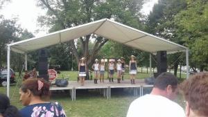 Helyi nemzeti etnikai és kisebbségi kultúrát bemutató program - Sumony - 2018. 08. 11. #3