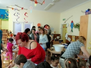 Kisgyermekes családok részére egészséges táplálkozást bemutató program - 2019.04.02. - Királyegyháza #2